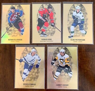 Details About 2019 2020 Tim Hortons Hockey Cards Gold Etchings 1 Each U Pick Hockey Cards Tim Hortons Cards