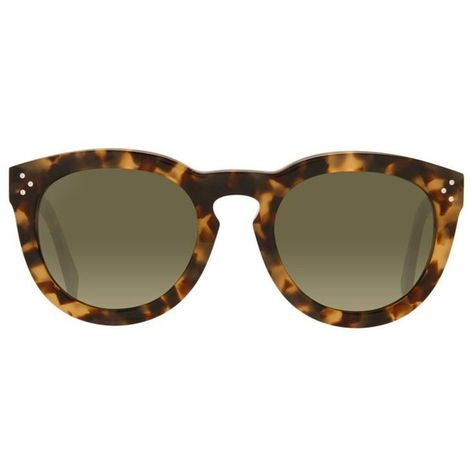 98f525bddd01 Céline Thin Preppy Sunglasses (£235) ❤ liked on Polyvore featuring  accessories