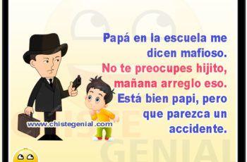 Papá En La Escuela Me Dicen Mafioso Chistes Para Niños Memes Family Guy Fictional Characters