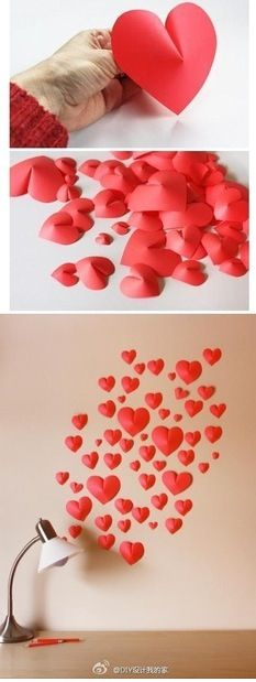 pin by tzo vor on love pinterest origami craft and manualidades - Valentine Decorations To Make