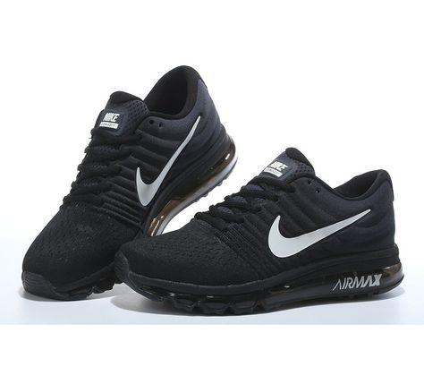low priced 99b35 d5faa Varios Comprar Nike Air Max 2017 HombreMujer NegrasBlancas España
