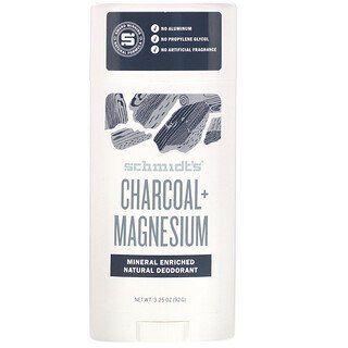 Schmidt S Naturals Natural Deodorant Charcoal Magnesium 3 25
