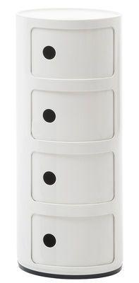 Kartell Componibili Storage White Made In Design Uk Rangement Kartell Petit Rangement