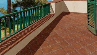 Terra Cotta Porcelain Tile 14x14 Gloss Finish Cotto Field Tile Sicilia Red Flooring Porcelain Floor Tiles Terracotta Tiles