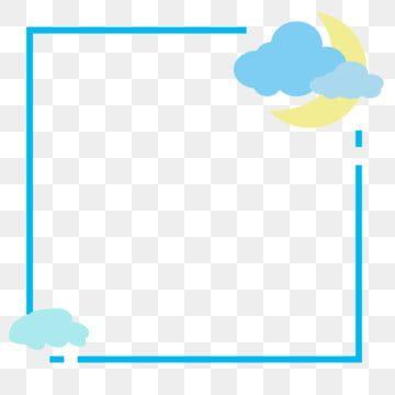 Border Cloud Decorative Bordertabloid Border Border Clipart Album Border Background Border Png Transparent Clipart Image And Psd File For Free Download Cloud Stickers Decorative Borders Hand Drawn Pattern