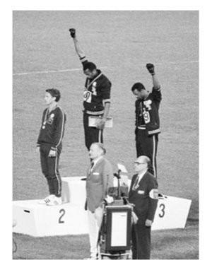BLACK POWER SALUTE Poster 24x36 Olympics Civil Rights