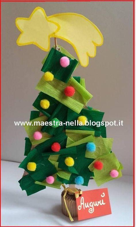Idee Per Lavoretti Di Natale Scuola Dell Infanzia.Disegni Idee E Lavoretti Per La Scuola Dell Infanzia E