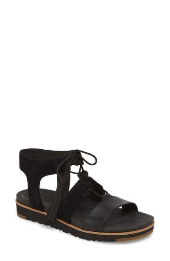 ebd8af3e7fe UGG® Maryssa Tassel Sandal | The Top Sandals Trends | Sandals, Uggs ...