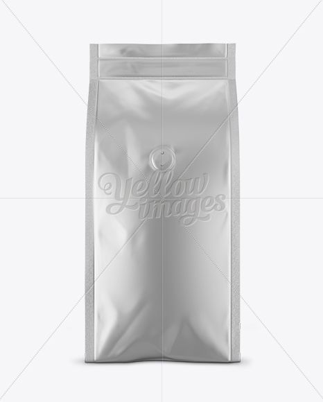 Download Matte Metallic Coffee Bag With Valve Mockup Front View In Bag Sack Mockups On Yellow Images Object Mockups Mockup Free Psd Design Mockup Free Free Psd Mockups Templates