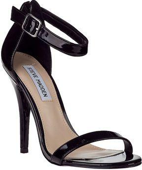3acc7cb4edc Steve Madden Realove Evening Sandal Black Patent on shopstyle.com ...