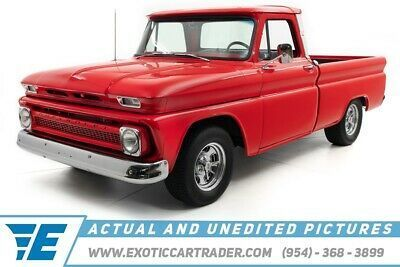 1966 Chevrolet C10 Pickup Truck Fleet Side Big Back Window Air