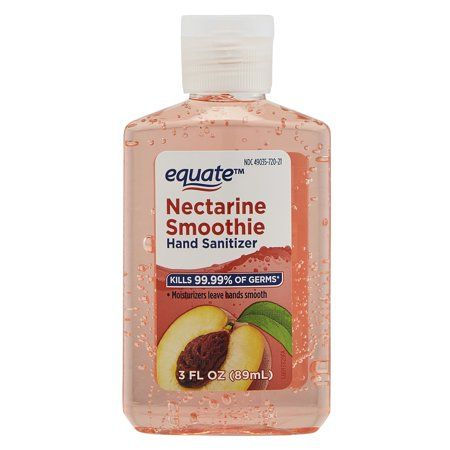 Health Nectarine Smoothie Smoothies Hand Sanitizer