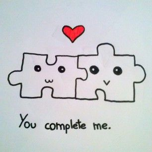 You Complete Me   We Heart It