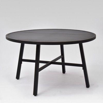 Fairmont Euro Patio Coffee Table Black Threshold In 2019