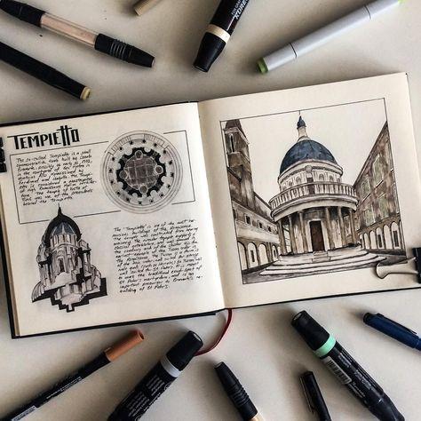 "715 Likes, 3 Comments - Oğuzhan Çengel (@mr__constantine) on Instagram: ""#art #architecture #sketch #sketch_arq #arquitectura #arquitetapage #arquitumundo #arqsketch…"""