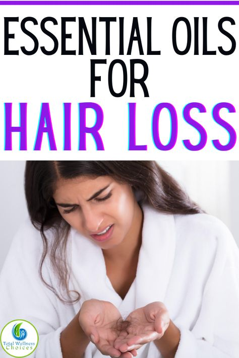 Essential Oils for Hair Loss and Thinning Hair