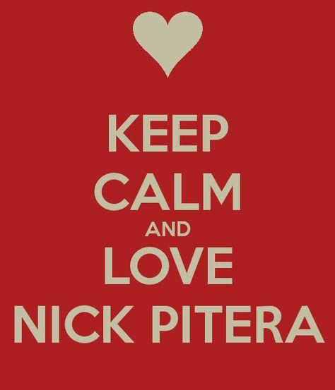 Keep calm and love Nick Pitera :)