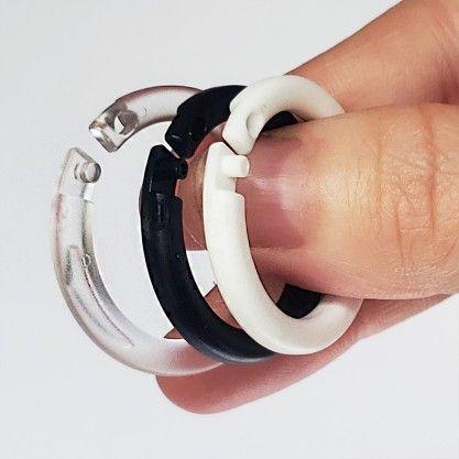 Plastic Snap Lock Binding Rings Encuadernado Disenos De Unas Hacer Cuadernos