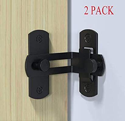 Amazon Com 90 Degree Flip Door Lock Buckle Right Angle Bend Door Buckle Bolt Barn Door Lock Sliding Door Lock Cabinet L In 2020 Sling Doors Barn Door Latch Door Latch