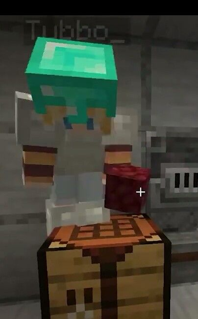 Tubbo Get Off Of The Crafting Table Crafting Table Minecraft Craft Table Minecraft Fan Art