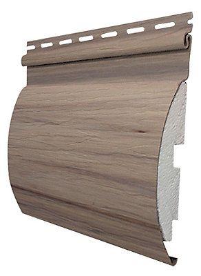 Abtco Adirondack Revetments De Bois Rond Cypres Home Depot Canada House Siding Log Siding Vinyl Log Siding