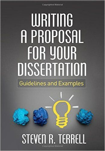 Terrell S R 2015 Writing A Proposal For Your Dissertation London Guildford Pres Paper Service Ebook University Of Dissertations East Queen Mary College Master