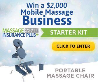 2 000 Giveaway Mobile Massage Business Starter Kit Massage