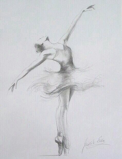 Shared By Miss Korona Find Images And Videos About Art Drawing And Draw On We Heart It The App To Get Lost In Wh Ballet Drawings Sketches Ballerina Drawing