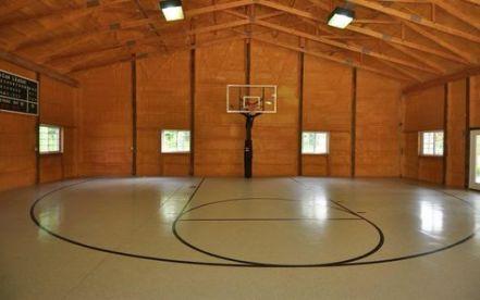 46 Ideas For Basket Ball Court Design Dream Homes Home Basketball Court Basketball Court Indoor Basketball Court