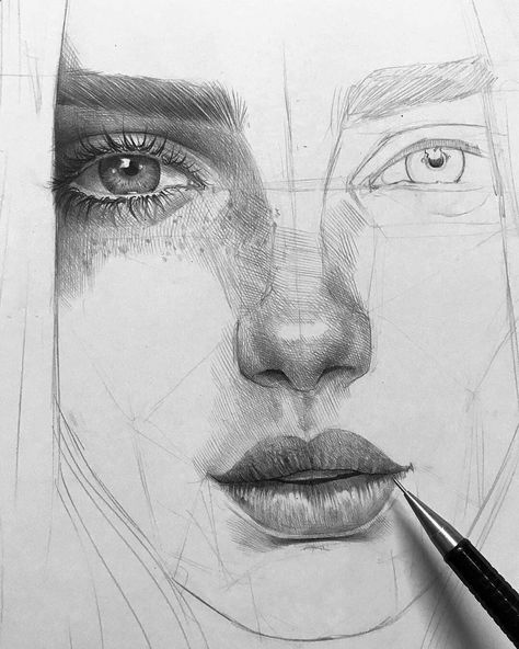 Drawing Pencil Portraits - By Malo Art . Follow @sketch_dailydose for more art and use our hashtag #sketch_dailydose for a chance to be featured! . Do you want… Discover The Secrets Of Drawing Realistic Pencil Portraits #artsketches