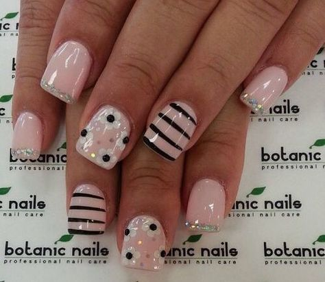 Uploaded by Paulina. Find images and videos about nail art, nails and pink on We Heart It - the app to get lost in what you love.