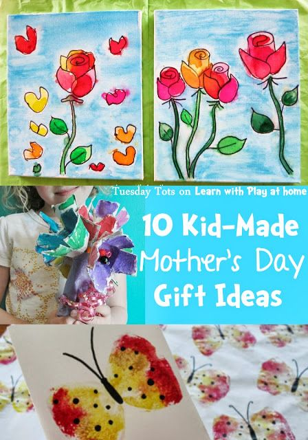 Learn with Play at home: 10 Kid-Made Mothers Day Gift Ideas