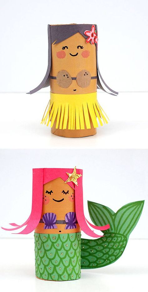 15 Toilet Paper Roll Crafts For Kids Paper Roll Crafts