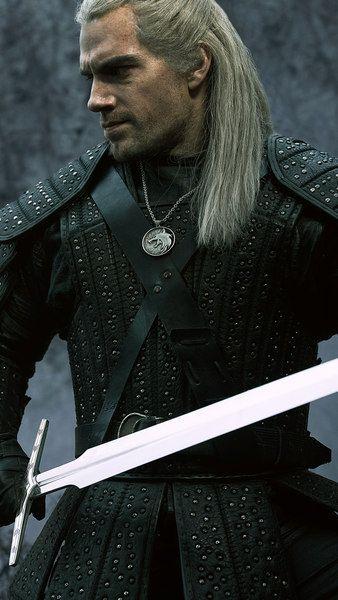 The Witcher Henry Cavill Geralt Netflix Series 4k