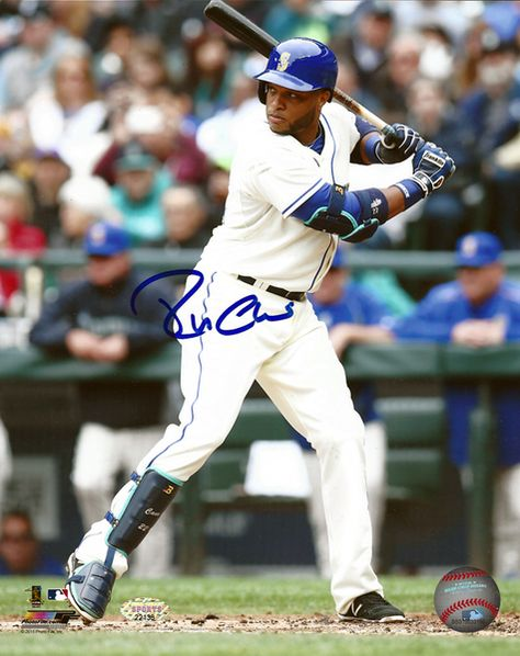 Robinson Cano Autographed 8x10 Photo Seattle Mariners MCS Holo Stock