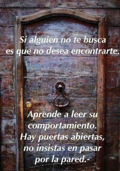 Hay Puertas Abiertas No Insistas En Pasar Por La Pared