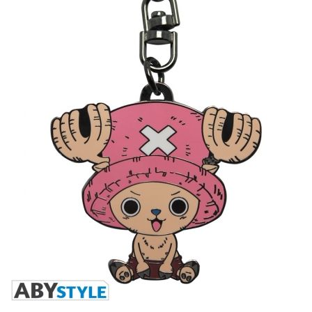 Porte clé One piece Chopper clefs