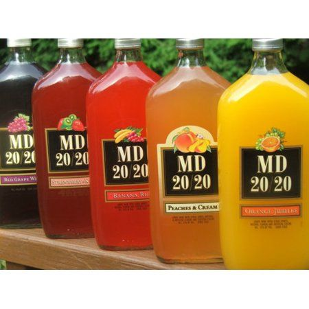 Md 20 20 Red Grape Flavored Wine 750ml Walmart Com Red Grapes Alcohol Humor Grapes
