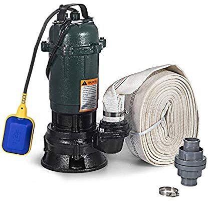Succebuy Pompe Submersible Electrique Pompe A Eaux Usees