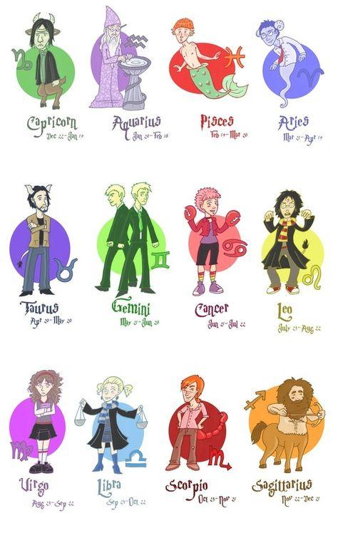 Harry potter astrology! !
