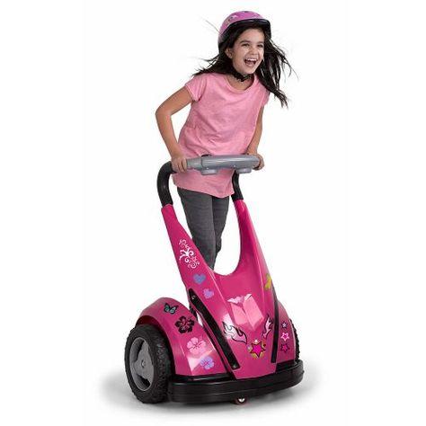 The Child's Motorized Personal Transporter (Pink) - Hammacher Schlemmer Kids Ride On Toys, Toy Cars For Kids, Toys For Girls, Kids Toys, Hammacher Schlemmer, Little Girl Toys, Baby Girl Toys, Girly, One Color