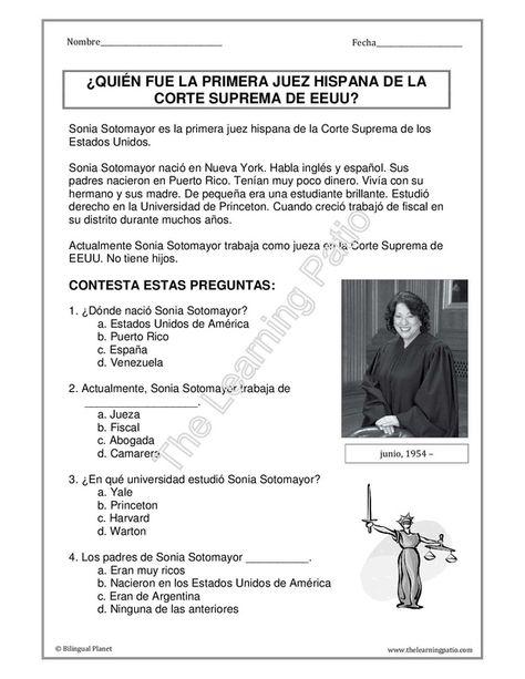134 best lectura comprensiva images on Pinterest Spanish class - copy tabla periodica en espaã±ol e ingles