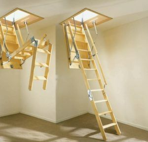 Pull Down Attic Stairs Small Details When Building Homes Folding