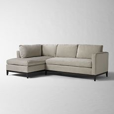 Detailed View west elm  blake sectional  sofa and chaise : west elm dunham sectional - Sectionals, Sofas & Couches
