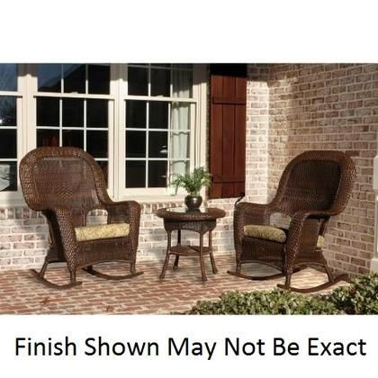 Lex Rt3 M Sea Pines Rocker And Table Set With Outdoor All Weather