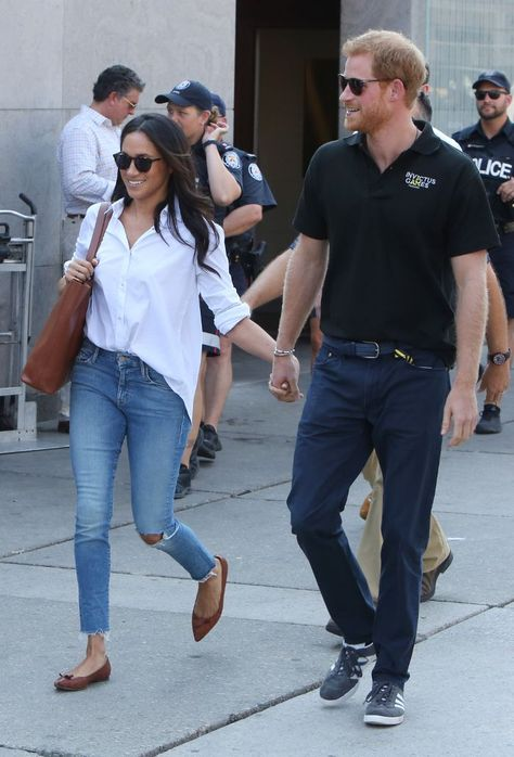 Prince Harry & Meghan Markle Hold Hands, Make First Public Appearance Together!: Photo Prince Harry and Meghan Markle have officially gone public with their romance! The actress and royal held hands as they headed towards…