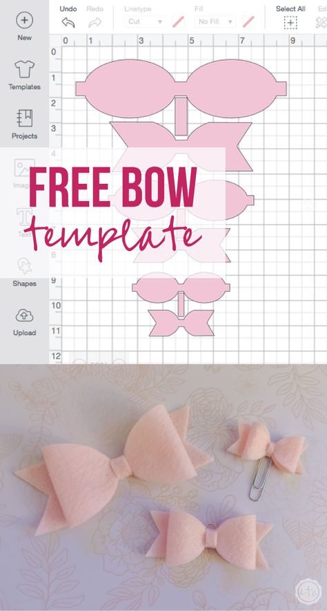 Free Pdf and cricut files for 3 sizes of cute little bows. Make them out of felt… Free Pdf and cricut files for 3 sizes of cute little bows. Make them out of felt, leather, vinyl, paper… the list is endless. Making Hair Bows, Diy Hair Bows, Diy Bow, Diy Baby Headbands, Bow Making, Flower Headbands, Ribbon Hair, Baby Bows, Diy Leather Bows