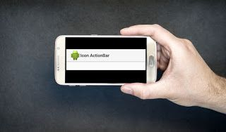 Menampilkan Icon Aplikasi Pada Action Bar Aplikasi
