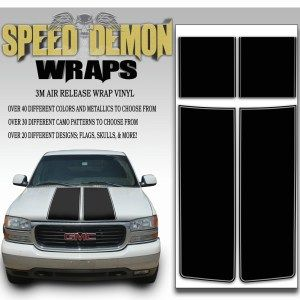 Gmc Sierra Stripe Kit 2000 2006 Racing Stripes Trucks Tailgate Wraps