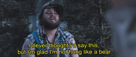 Image Result For Tucker And Dale Vs Evil Gif Soundtrack To My Life Tucker And Dale Vs Evil Cool Gifs